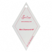 "Sew Easy Mini Diamond 60 Degree Ruler 2.9"" x 2.5"""